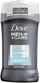 2-Pack Dove Men + Care 1/4 Moisturizer Deodorant