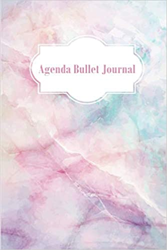 Agenda Bullet Journal: Carnet des Notes Marbre Notebook A5 ...