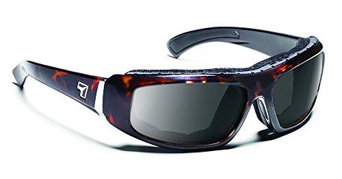 7eye Bali SharpView Sunglasses, Tortoise Dark Frame, Gray Lens, - Best Dry Eyes Sunglasses For