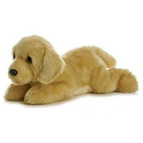 Sing 12' Plush (Stuffed Plush Dog Toy - Stuffed Plush Animal 12 Inch Goldie Labrador Dog Suitable For Babies and Children - Perfect Birthday Gifts - Toy Doll for Kids and Toddlers)