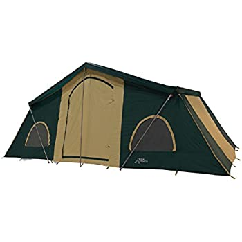 Amazon Com Trek Tents 249 3 Room Cabin Tent 10 X 20