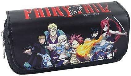 Fairy Tail Anime - Estuche para lápices: Amazon.es: Oficina y papelería