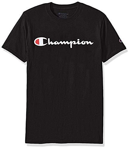 Champion Boys' Heritage Short Sleeve Tee (Medium)