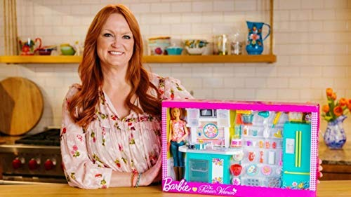 Htc Women Accessories - Barbie as Pioneer Woman with Ree Drummond Doll Kitchen Playset
