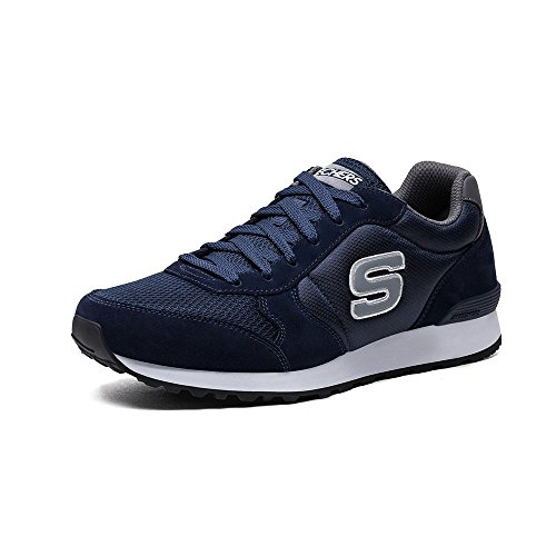 Skechers Original Mens Retros En 85 Fashion Sneaker Marine Blauw
