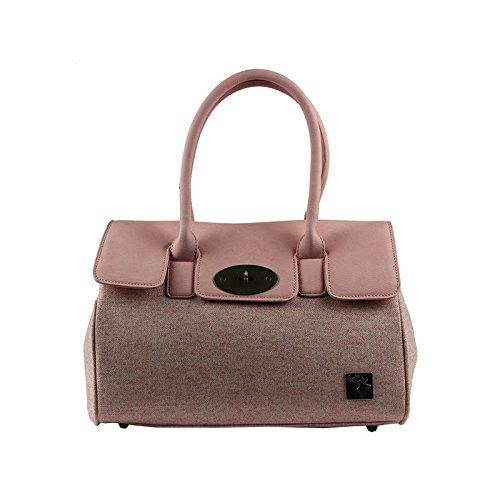 Handbag Tweed Tweed Handbag Pink YxWwIvEI8q