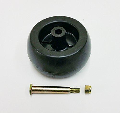 Deck Wheel Including Shoulder Bolt, Lock Nut For 133957, 174873, 532133957, 532174873 Craftsman Poulan Husqvarna. Also For MTD 734-03058, 753-04856. Murray 92683, 92265. John Deere M84690. Aftermarket Mower Parts
