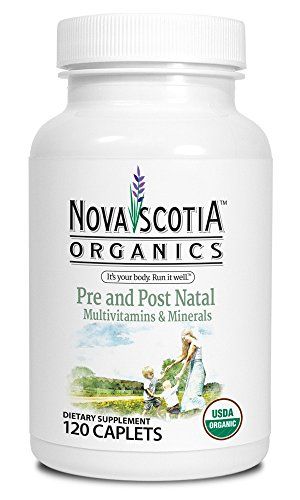 Nova Scotia Organics Pre and Postnatal Multivitamin