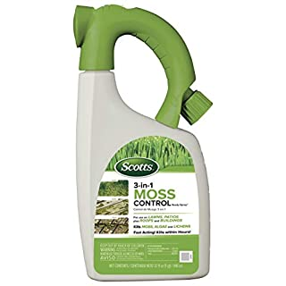 Scotts 3-in-1 Moss Control Ready-Spray, 32-Ounce