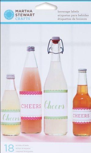 s EK Success Vintage Girl Assorted Beverage Labels ()