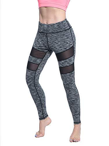 Yoga Pants, FEIVO Women's Power Flex Yoga Pants Tummy Control Workout Yoga Capris Pants (Stylish Yoga Clothing)
