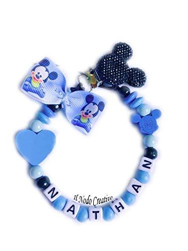Cadena de chupete Mickey Mouse Disney | chupetero con ...
