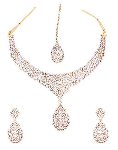Grace Jewels designer rhinestone Necklace Set by Grace Jewels