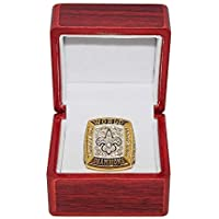 $99 » NEW ORLEANS SAINTS (Drew Brees) 2009 SUPER BOWL XLIV WORLD CHAMPIONS (31-17 Victory Vs. Colts) Rare Collectible Gold Football…