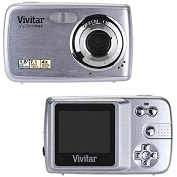 amazon com vivicam 7022 7 1 megapixel compact camera 7 45 mm rh amazon com Vivitar Film Camera Vivitar Monster High Camcorder User Manual