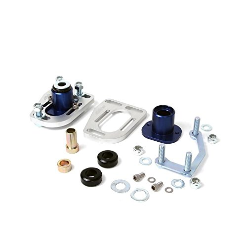 BBK 79-93 Mustang Caster Camber Plate Kit - Silver Anodized Finish (2525) by BBK (Image #1)