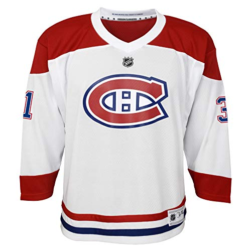 Outerstuff NHL NHL Montreal Canadiens Youth Boys Carey Price Replica Jersey-Away, White, Youth Small/Medium (8-12) (Montreal Canadiens Replica Jersey)