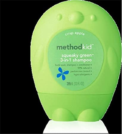 Shampoo Kid's 3-In-1 Apple 10 Ounces Method Products