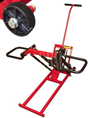 Hrdraulic Tractor Lift : Lbs hydraulic garden lawn riding mower tractor lift