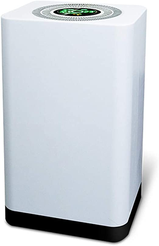 Purificador De Aire De Iones Negativo Portátil Para El Hogar Con True HEPA Y Filtros De Carbón Activo Ambientador De Ionizador De Aire, PM2.5 Limpiador Eliminador De Humo De Cigarrillo, Alergias: Amazon.es: