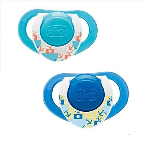 Amazon.com: Chicco 2pcs Physio anatómica látex Chupete con ...