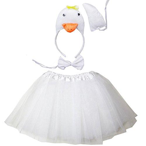 Kirei Sui Swan 3D Costume Tutu Set
