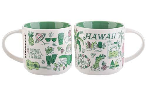- Starbucks Hawaii Been There Series 14oz Ceramic Mug