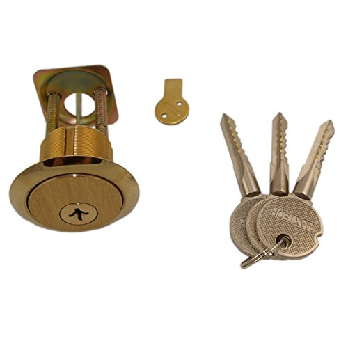 Ultima (Like Wilson 6180 Top Security) Satin Brass US4 18 Pins for Extra Security Rim/Mortise 1-1/8