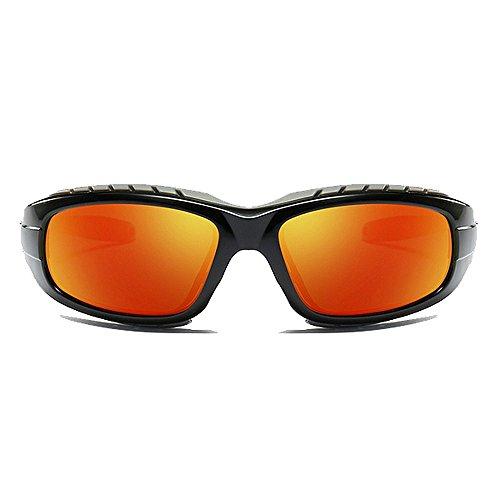 Homme Sport Windproof pour Soleil LBY Soleil Lunettes Orange Soleil De Orange Couleur De Polarisées Lunettes Lunettes de qtwW8TwO