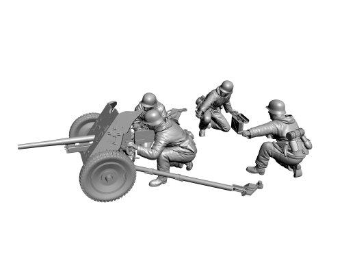 Zvezda Models 1/72 German Anti-Tank Gun PaK-36 With Crew