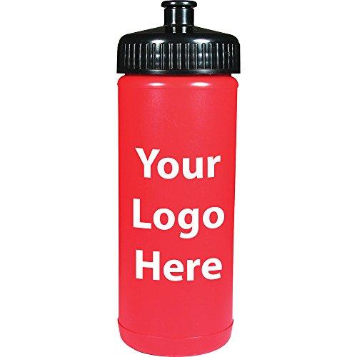Sunrise Identity 16 Oz. Sports Bottle - 250 Quantity - 1.00 Each - PROMOTIONAL PRODUCT/BULK with YOUR LOGO/CUSTOMIZED