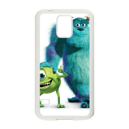 Samsung Galaxy S5 Cell Phone Case White Monsters Inc Qrucw (Monsters Inc Phone Case Galaxy S5)