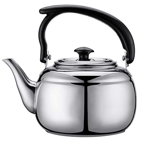 Stainless Steel 1L Water Kettle Tea Coffee Induction Cooker Camping Kettles Furnace Stove Kettle