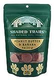 Shaded Trails All Natural Crunchy Dog Treats 8 oz - Vegan & Grain Free (Peanut Butter & Banana) Larger Image