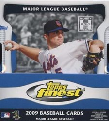 009 Topps Finest Baseball Hobby Mini-Box (6 Packs per Box) - Possible Angel Salome, Alcides Escobar, and Dexter Fowler Rookie Cards!!! ()