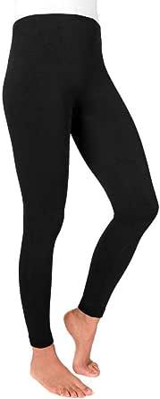 Muk Luks Women's Solid Fleece Leggings, olive, Medium/Large