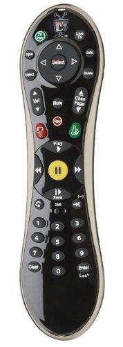 TiVo C00210 TiVoGlo Premium Remote Control, Black -