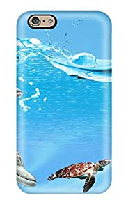 For Iphone 6 Protector Case Underwater Beautiful Of Fish Phone Cover
