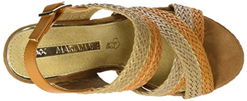 Maria Mare 66794 Donne Us 7 Sand Sand Wedge