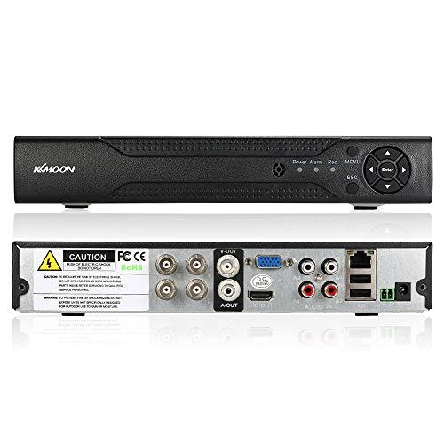 KKmoon 4CH Channel 1080N/720P AHD DVR NVR HDMI P2P Cloud Network Onvif...