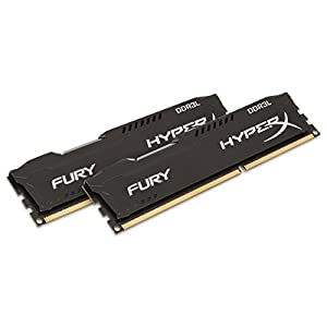 Kingston Technology HyperX FURY 16GB Kit (2 x 8GB) 1866MHz DDR3L Desktop Memory HX318LC11FBK2/16 41zJnCUo1yL. SS300