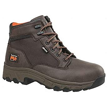 Amazon.com Timberland Pro Work Boots 12 M Men Lace Up BRWN