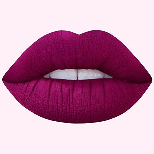 Lipstick Red Rose Petal - Liquid Matte Lipstick Inspired By Rose Petals - Beet It