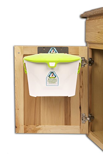 Kitchen Compost Caddy Under Sink Mounted Compost System