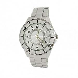 Youyoupifa Quartz Movement Office Style Pure White Watch NBW0FA6179M-SS1-YYP