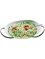 Mepra Due Ice Oro Risotto Bowl With Stand
