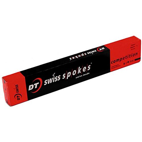 DT Swiss Db14G Competition Bicycle Spoke - Black - Box of 20 (Black - 20/Box -