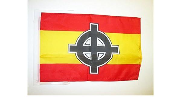AZ FLAG Bandera de ESPAÑA Cruz Celta 45x30cm - BANDERINA ESPAÑOLA ...