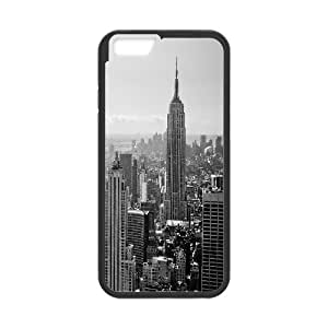 [New York2] New York City 2 Case for IPhone 6, IPhone 6 Case {Black}