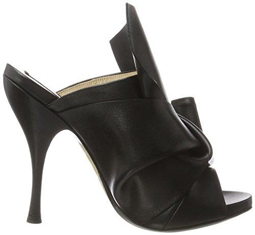 N°21 8003.8 - Sandalias con cuña Mujer Negro (Nero)